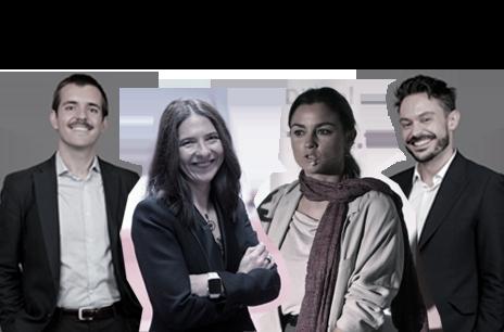 Gemma Juncá Directora de Marca y Marketing en IberiaInés Fernández Area Lead Paid and Own Media en INGDavid González Natal PresentadorGuillermo Lecumberri Moderador