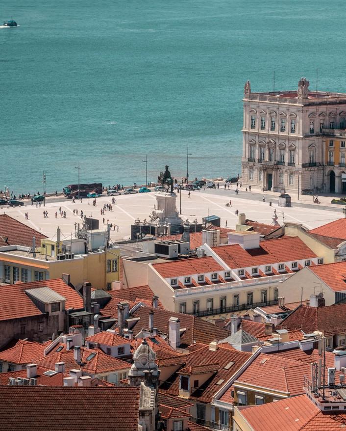 Lisboa e Rio, mesma língua, passado comum, realidades opostas.